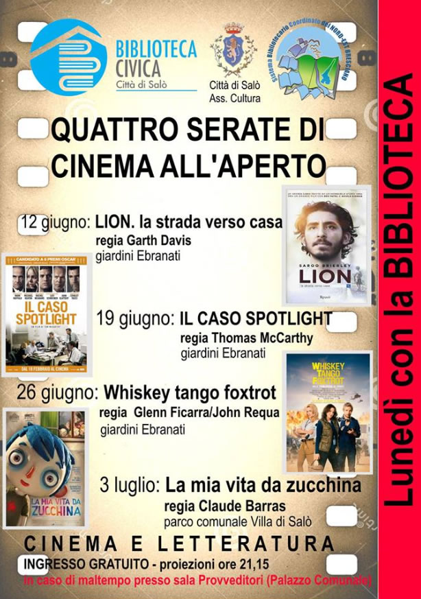 Cinema all'Aperto a Salò