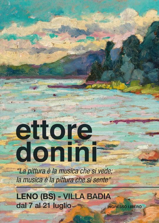 Ettore Donini: la gioia di una pittura libera a Leno