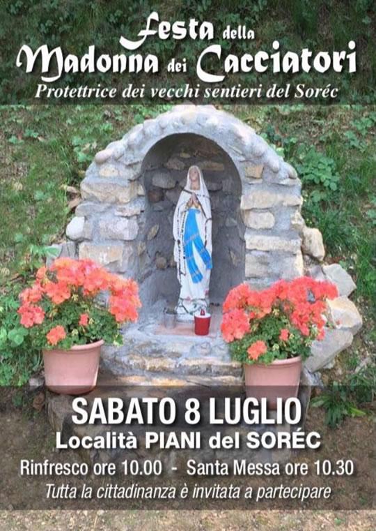 Festa della Madonna dei Cacciatori a Sarezzo
