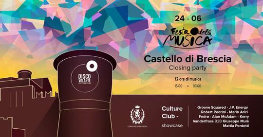 Festa della Musica al Castello di Brescia