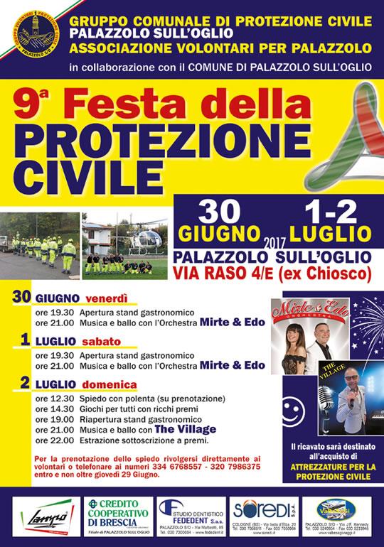 Festa della Protezione Civile a Palazzolo sull'Oglio