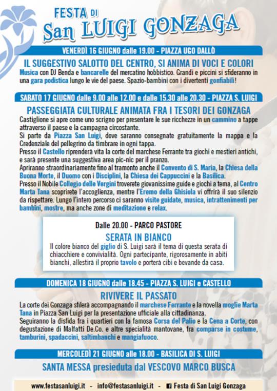 Stiviere Delle Luigi Gonzaga Castiglione Mn Festa Di A San IvYb76fgy