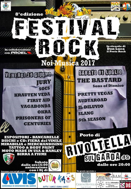 Festival Rock Noi Musica a Rivoltella del Garda