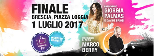 Finale di Be Talent a Brescia