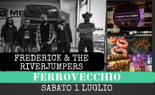 Frederick e the Riverjumpers a Coccaglio