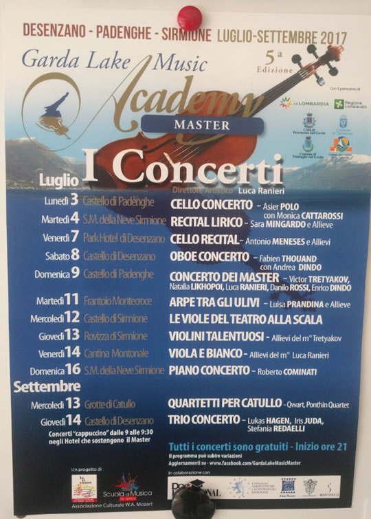 Garda Lake Music Academy