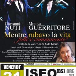 Giovanni Nuti e Monica Guerritore a Iseo