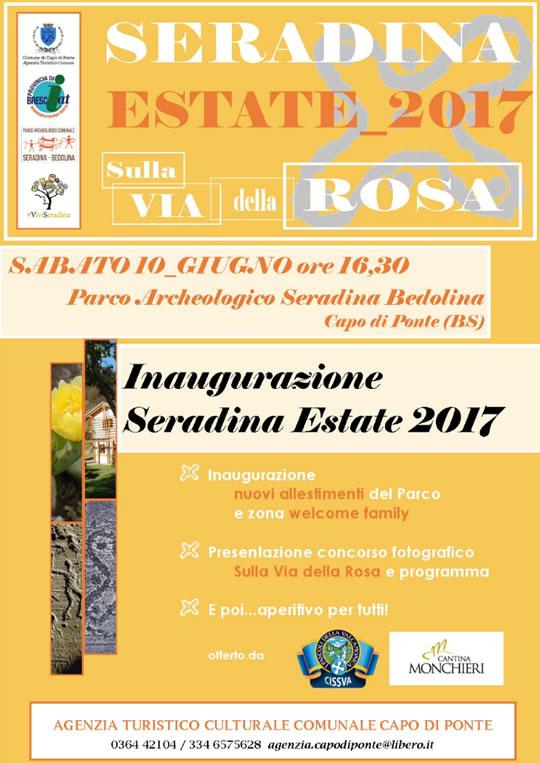 Inaugurazione estate a Seradina di Capo di Ponte
