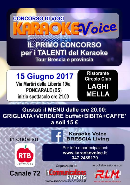 Karaoke Voice a Poncarale