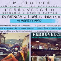 LM Chopper & Ferrovecchio Birreria e Tattoo for BIKERS a Coccaglio