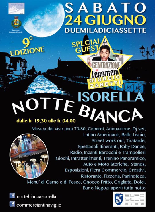 Notte Bianca a Isorella