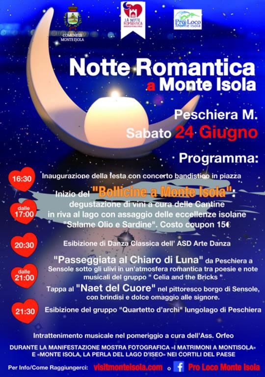 Notte Romantica a Monte Isola