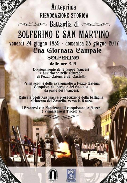 Rievocazione Storica Battaglia Solferino e San Martino