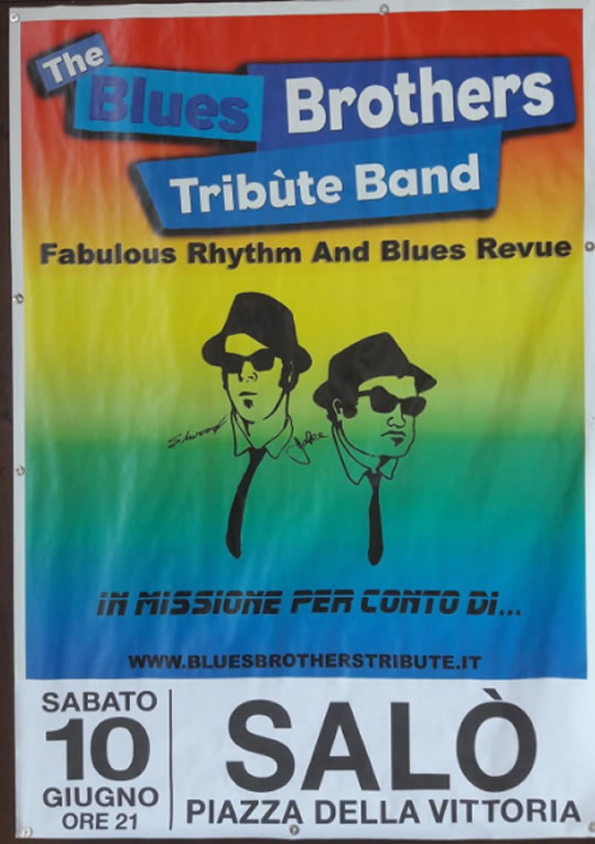 The Blues Brothers Tribute Band a Salò