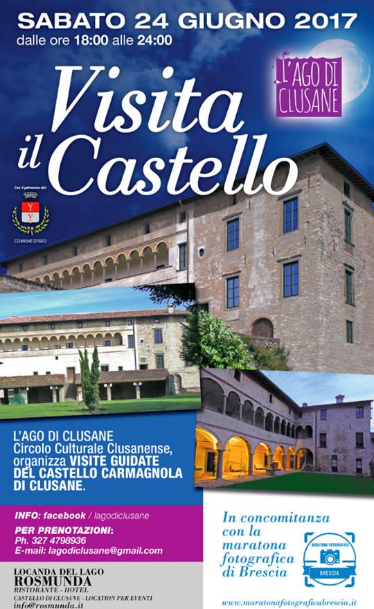 Visita il Castello Carmagnola a Clusane d'Iseo Visita il Castello Carmagnola a Clusane d'Iseo
