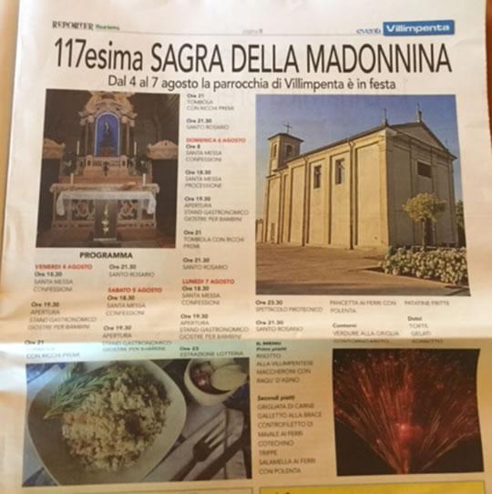 117 Sagra della Madonnina a Villimpenta