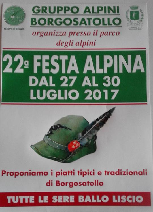 22 Festa Alpina a Borgosatollo