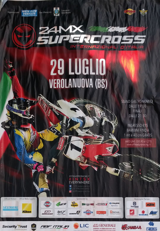 24 MX Supercross a Verolanuova