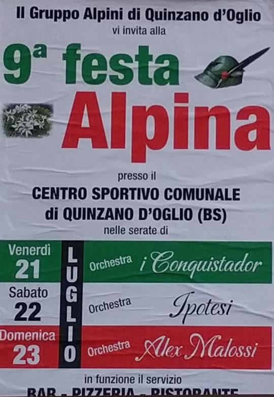 9 Festa Alpina a Quinzano d'Oglio