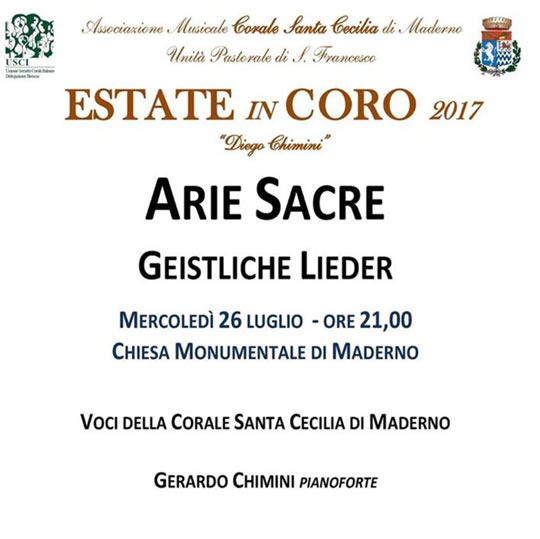 Arie Sacre a Maderno