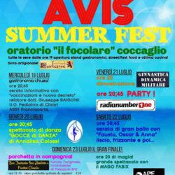 Avis Summer Fest a Coccaglio