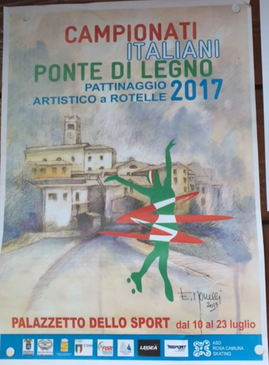 Camponati Italiani di Pattinaggio Artistico a Ponte di Legno
