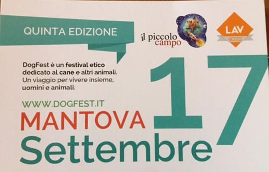 Dog Fest a Mantova