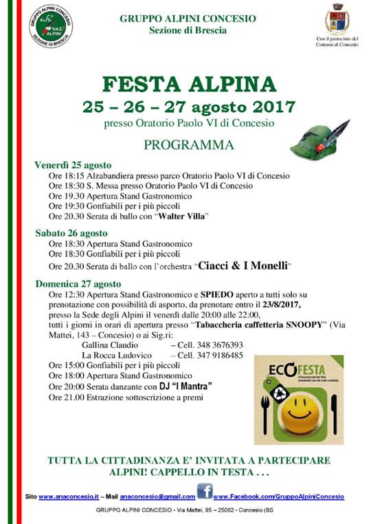 Festa Alpina Concesio