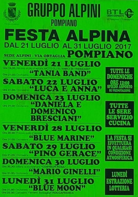 Festa Alpina a Pompiano