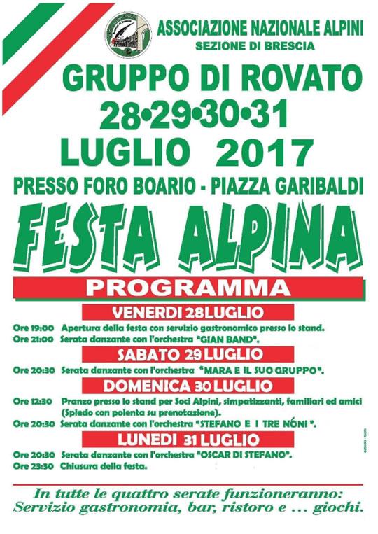 Festa Alpina a Rovato