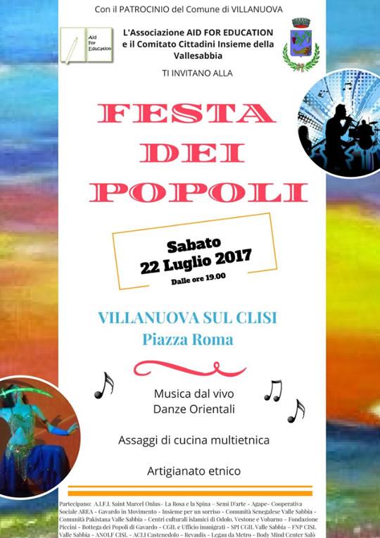 Festa dei Popoli a Villanuova sul  Clisi