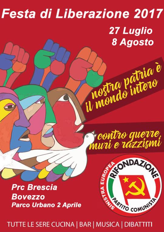 Festa di Liberazione a Bovezzo