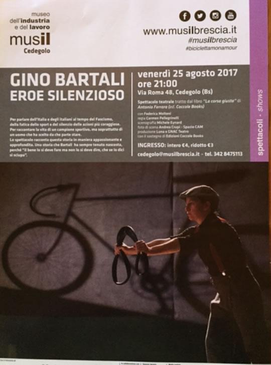 Gino Bartali Eroe Silenzioso a Cedegolo