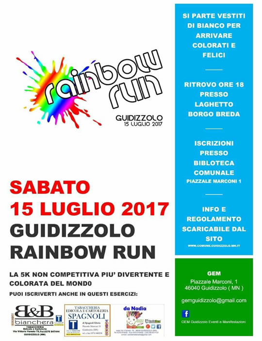 Guidizzolo Rainbow Run