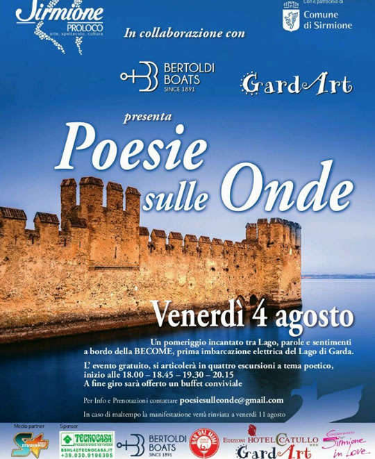 Poesie sulle Onde a Sirmione