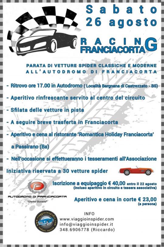 Racing Franciacorta a Castrezzato