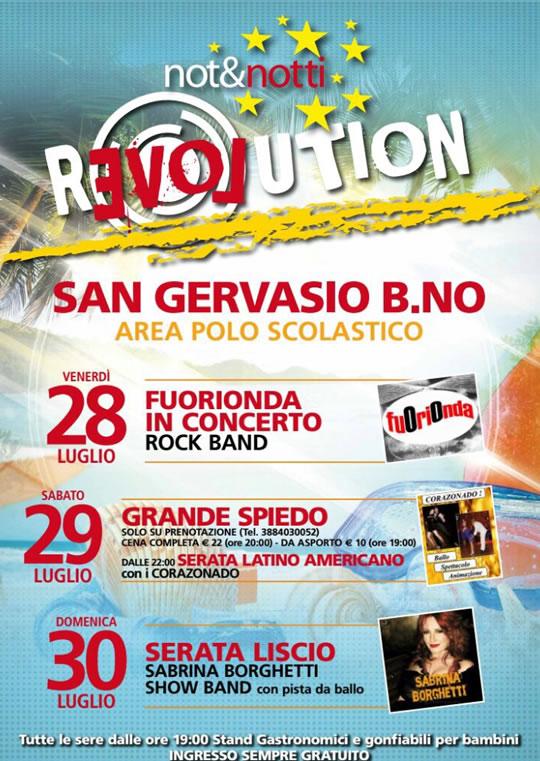 Revolution a San Gervasio Bresciano