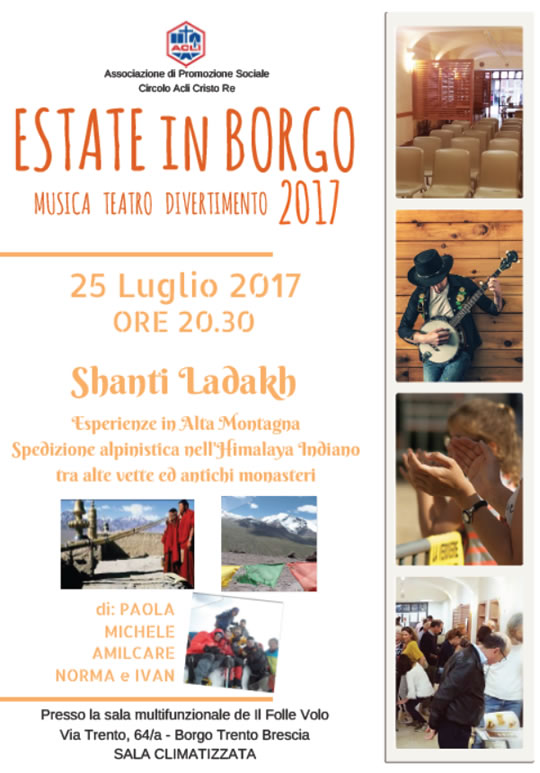 Shanti Ladakh Esperienze in Alta Montagna a Brescia