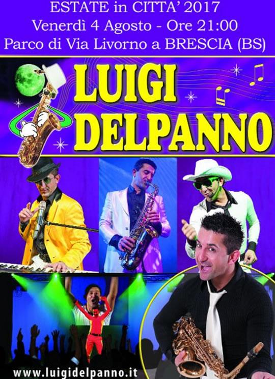 Spettacolo con Luigi Delpanno