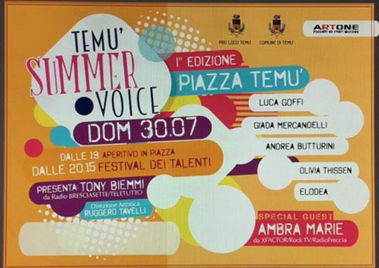 Temù Summer Voice