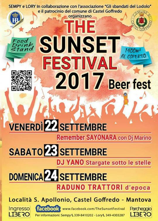 The Sunset Festival a Castel Goffredo
