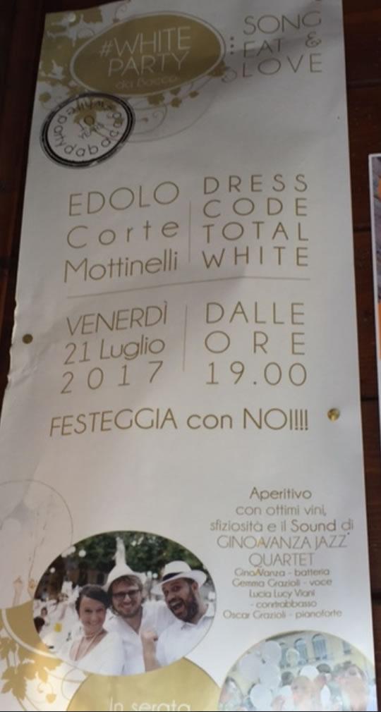 White Party a Edolo