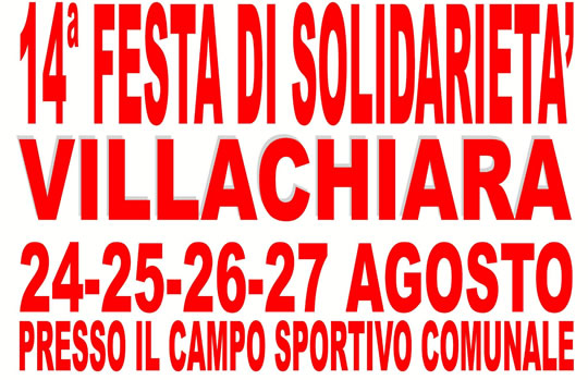 14 Festa di Solidarietà di Villachiara
