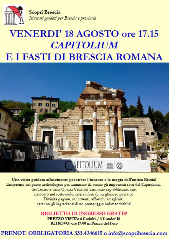 Capitolium e i Fasti di Brescia Romana