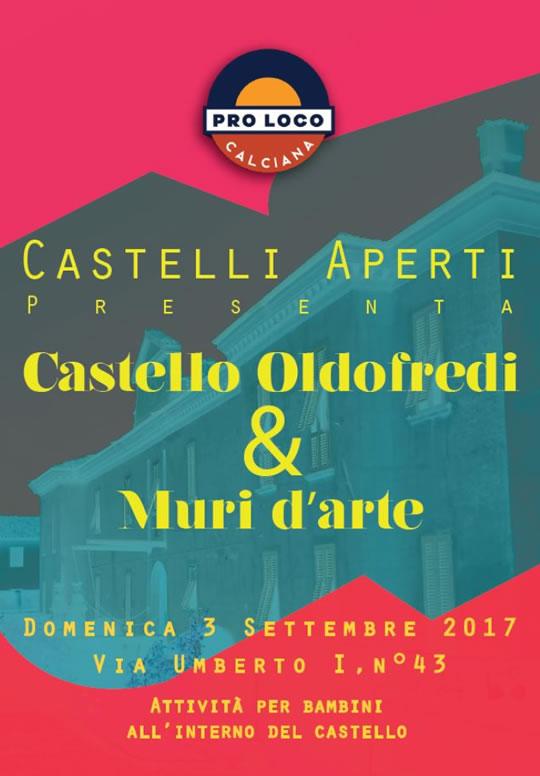 Castelli Oldofredi e Muri d'Arte a Calciana