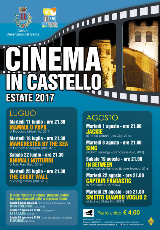 Cinema in Castello a Desenzano
