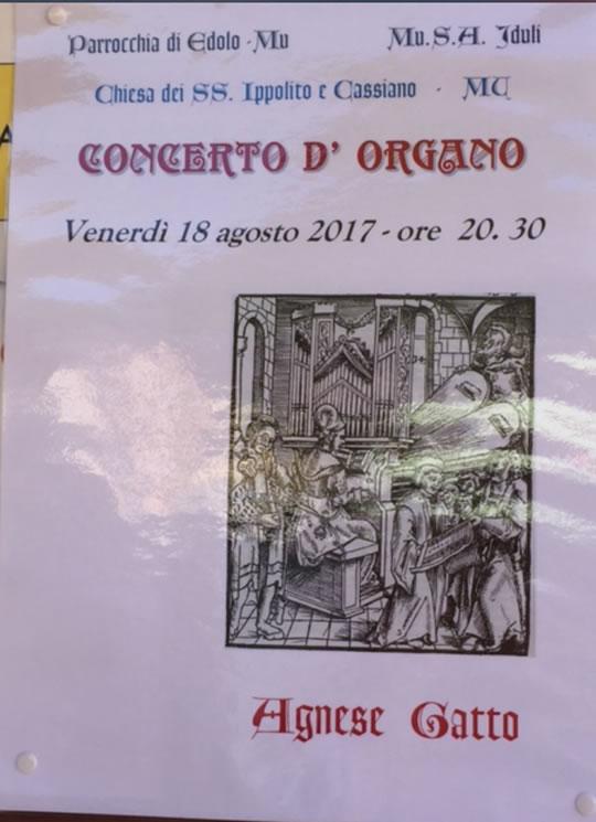 Concerto d'Organo a Edolo