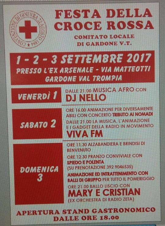 Festa Annuale C.R.I. Di Gardone V.T.