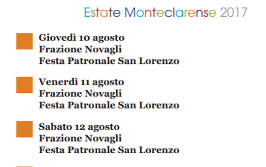 Festa Patronale di San Lorenzo a Novagli di Montichiari