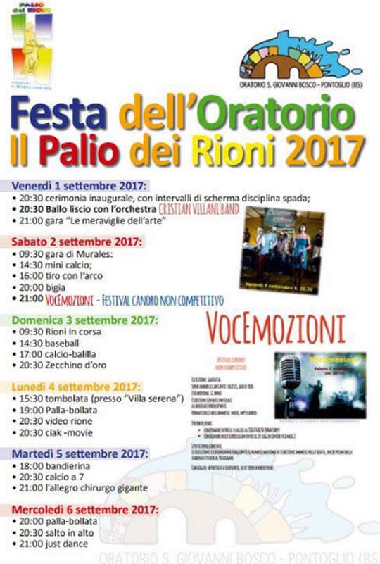 Festa dell'Oratorio di Pontoglio